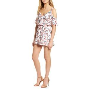 New cupcakes cashmere Audrian Cold Shoulder Romper